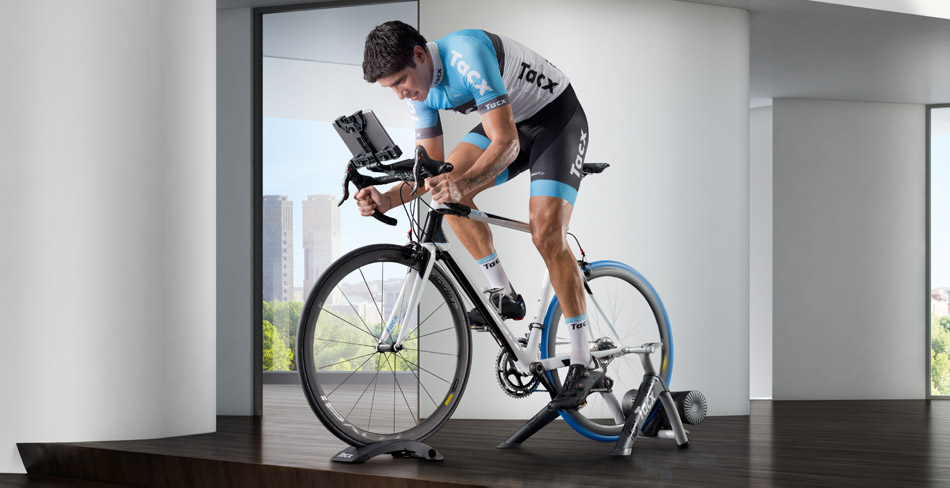 Stay fit, happy and healthy all year round by riding on an indoor trainer!