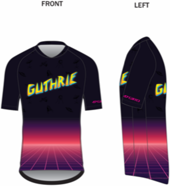 Guthrie Bicycle Guthrie Giro Roust Jersey - Tron Design
