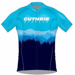 Guthrie Bicycle Guthrie Giro Chrono Jersey - Blue Skyline
