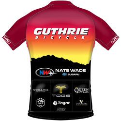 Guthrie Bicycle Guthrie DNA Jersey Unisex - Sunset Club Sponsors