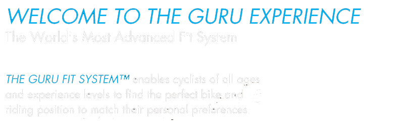 Brickwell Cycling & Multisports has the Guru Fit System