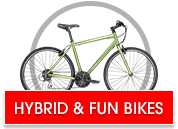 Hybrid & Fun Bike Closeouts