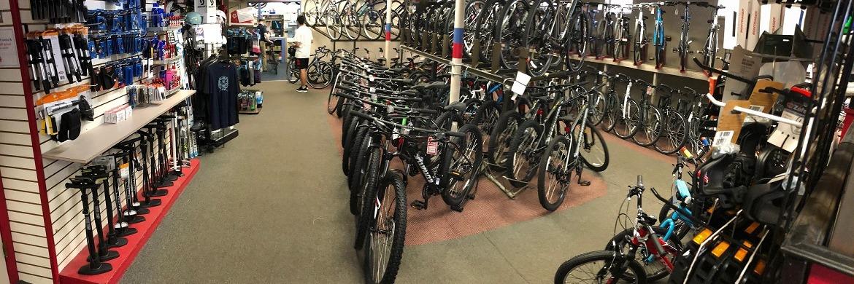 City Cycle showroom