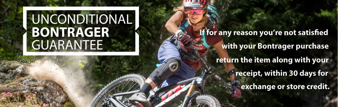 Bontrager Unconditional Guarantee