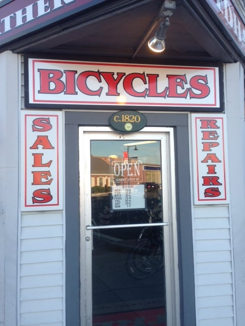 Dedham Bike Front Door