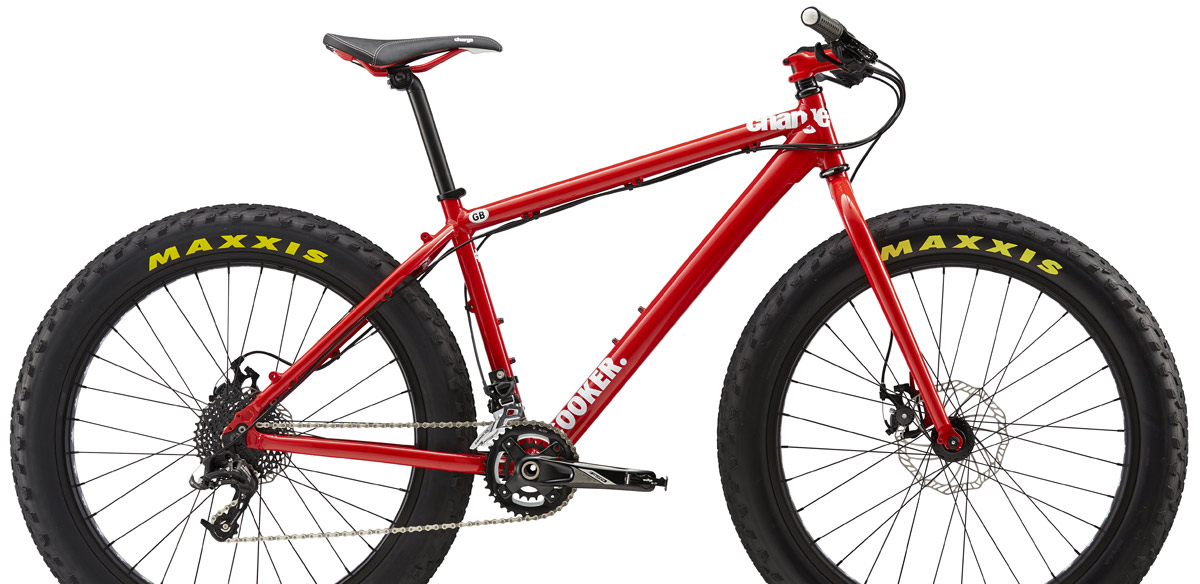 Charge Cooker Maxi 1 Fat Bike looking good in red!