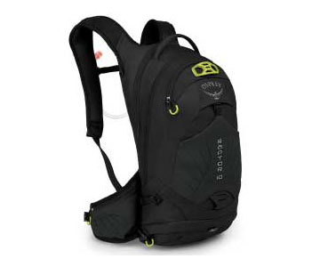 black osprey backpack
