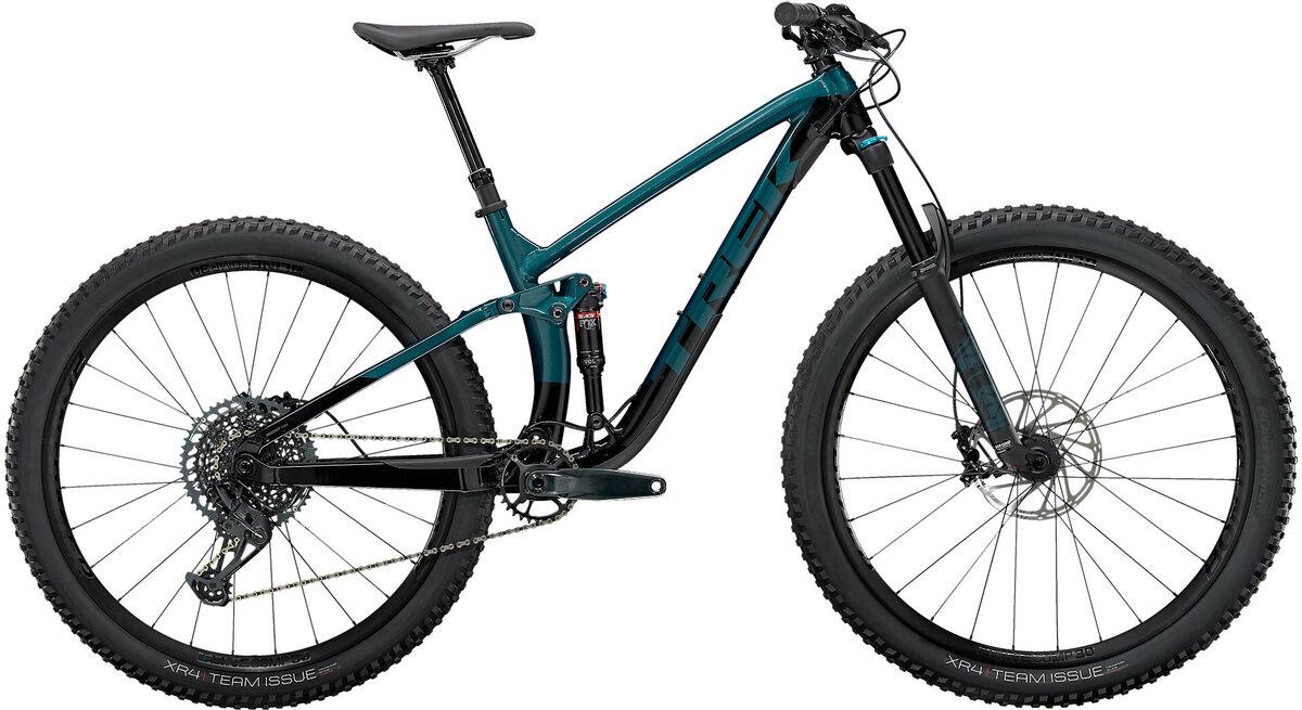 """Trek Fuel dual suspension bike"""