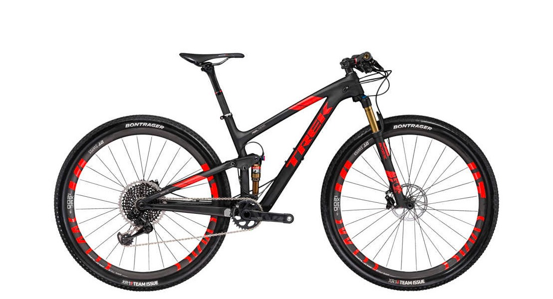 Trek Top Fuel 9.9 XC Full Suspension Race Bike