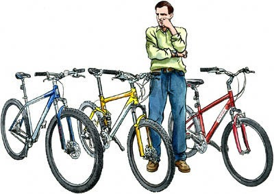 """We can help you pick the right bike"""