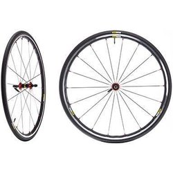 Mavic Ksyrium Elite Wts Wheel Front 700C Red Includes Tire