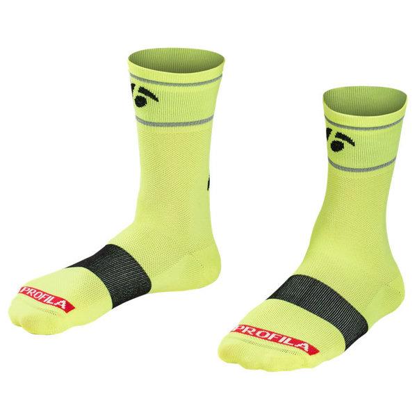 Bontrager Sock Bontrager Halo 5 Visibility Yellow CS