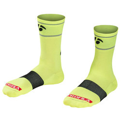 Bontrager Sock Bontrager Halo 5 Visibility Yellow CS