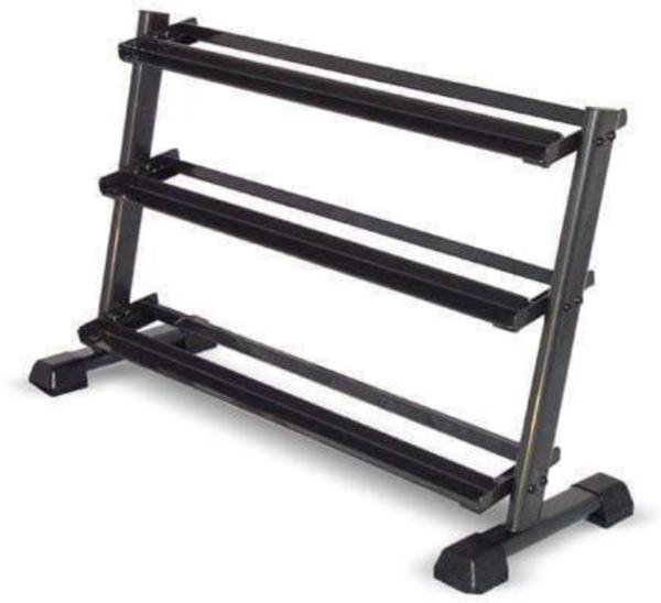 Inspire Fitness Inspire Horizontal 3-Tier Dumbbell Rack