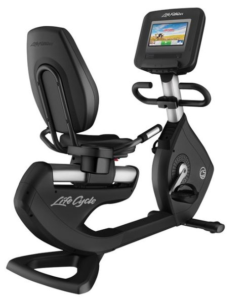 """Life Fitness DISCOVER Recumbent SI with 10"""" Console"""