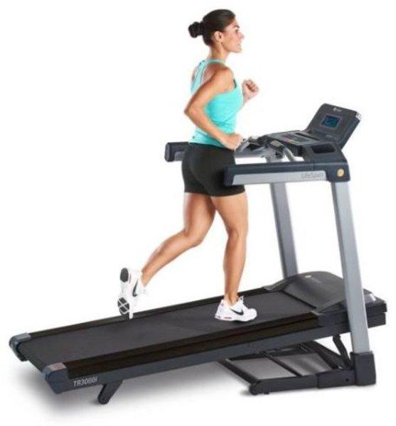 LifeSpan Fitness TR3000i Folding Treadmill w/Touchscreen
