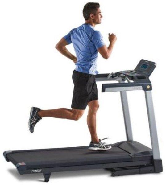 LifeSpan Fitness TR4000i Folding Treadmill w/Touch screen