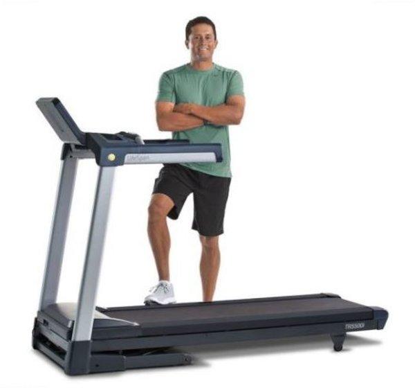 LifeSpan Fitness TR5500i Folding Treadmill w/Touch screen