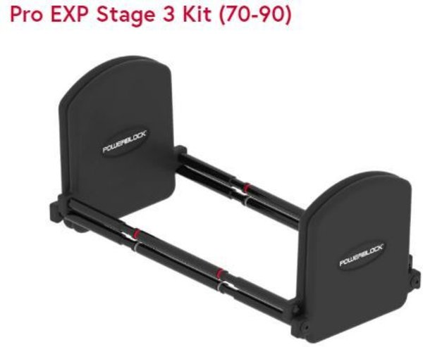 PowerBlock Pro Expansion Kit Stage 3 90lbs.