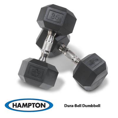 Hampton Fitness DuraBell 17.5# Pair