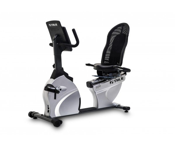 True Fitness ES700 Recumbent Exercise Bike - Emerge LED console