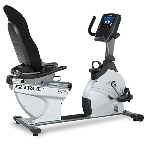 True Fitness ES700 Recumbent Exercise Bike - Transcend console