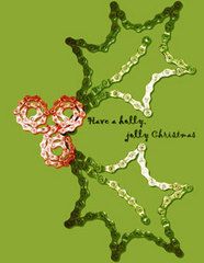 "Scheller's Bike Chain ""Jolly Holly"" Holiday Card"