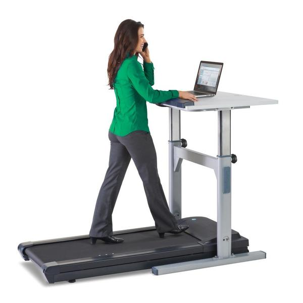"LifeSpan Fitness TR1200-DT5 Treadmill Desk 38"" Top"