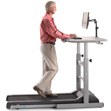 LifeSpan Fitness TR1200-DT5 Treadmill Desk Combination