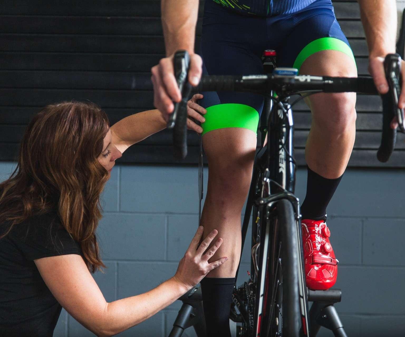 Bike fit at our Evansville bike shop