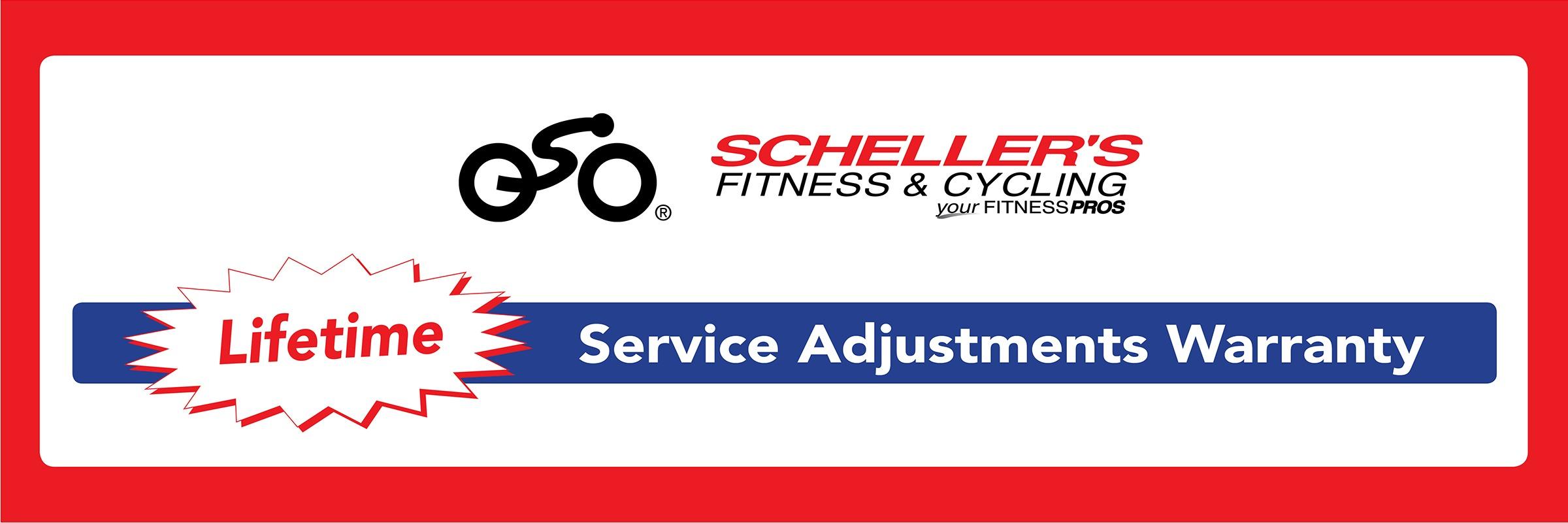 Scheller's Service Lifetime Adjustments Warranty