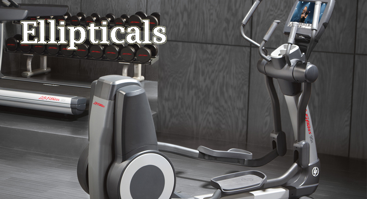 Ellipticals at Schellers Fitness and Cycling