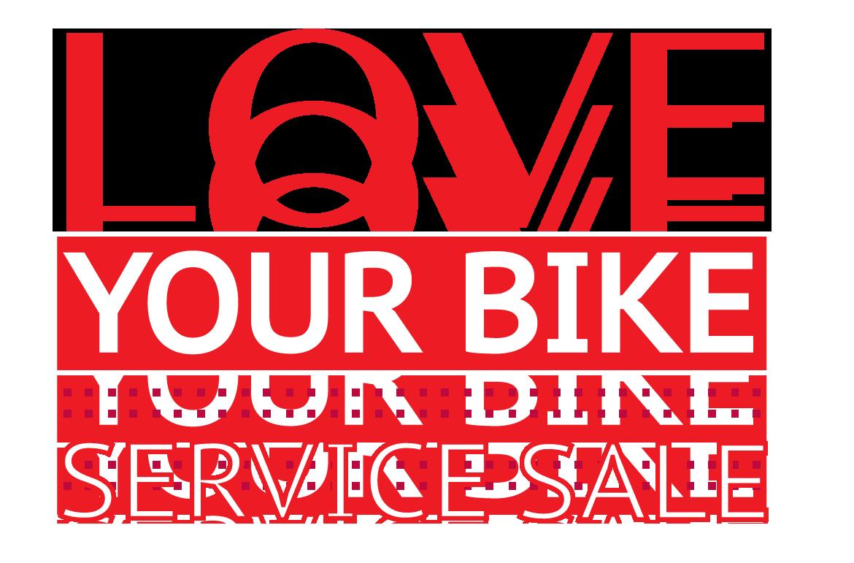 Love Your Bike Service Sale