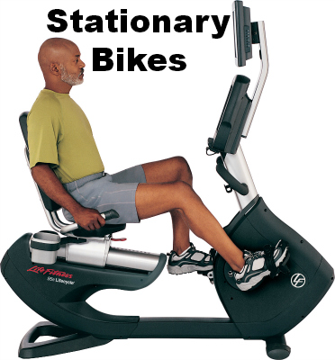 Stationary Bikes at Scheller's Fitness and Cycling