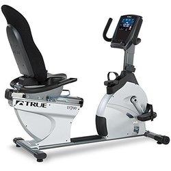 True Fitness ES700 Recumbent Exercise Bike - Transcend Console - FS