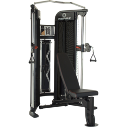 Inspire Fitness FT1 FUNCTIONAL TRAINER PACKAGE (Includes FIDBB Bench)