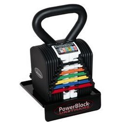 PowerBlock Closeout Kettleblock 40 with Stand and Platform