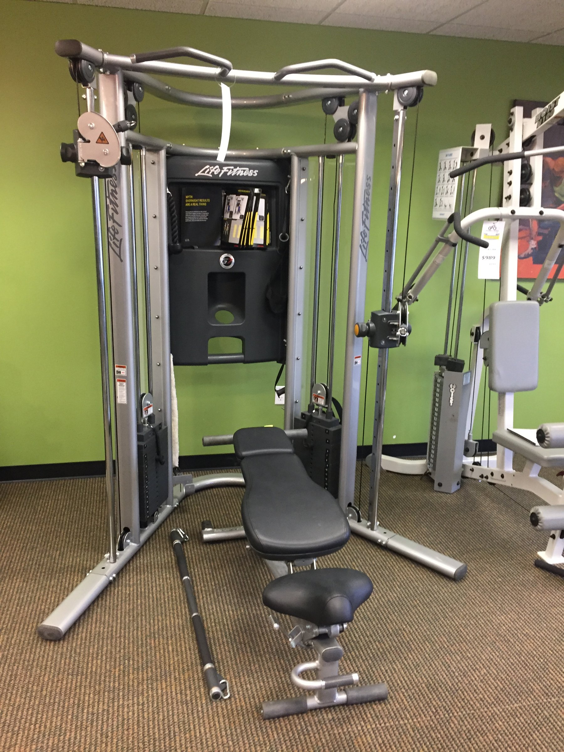 Life Fitness Used Home Gym G7 With Bench