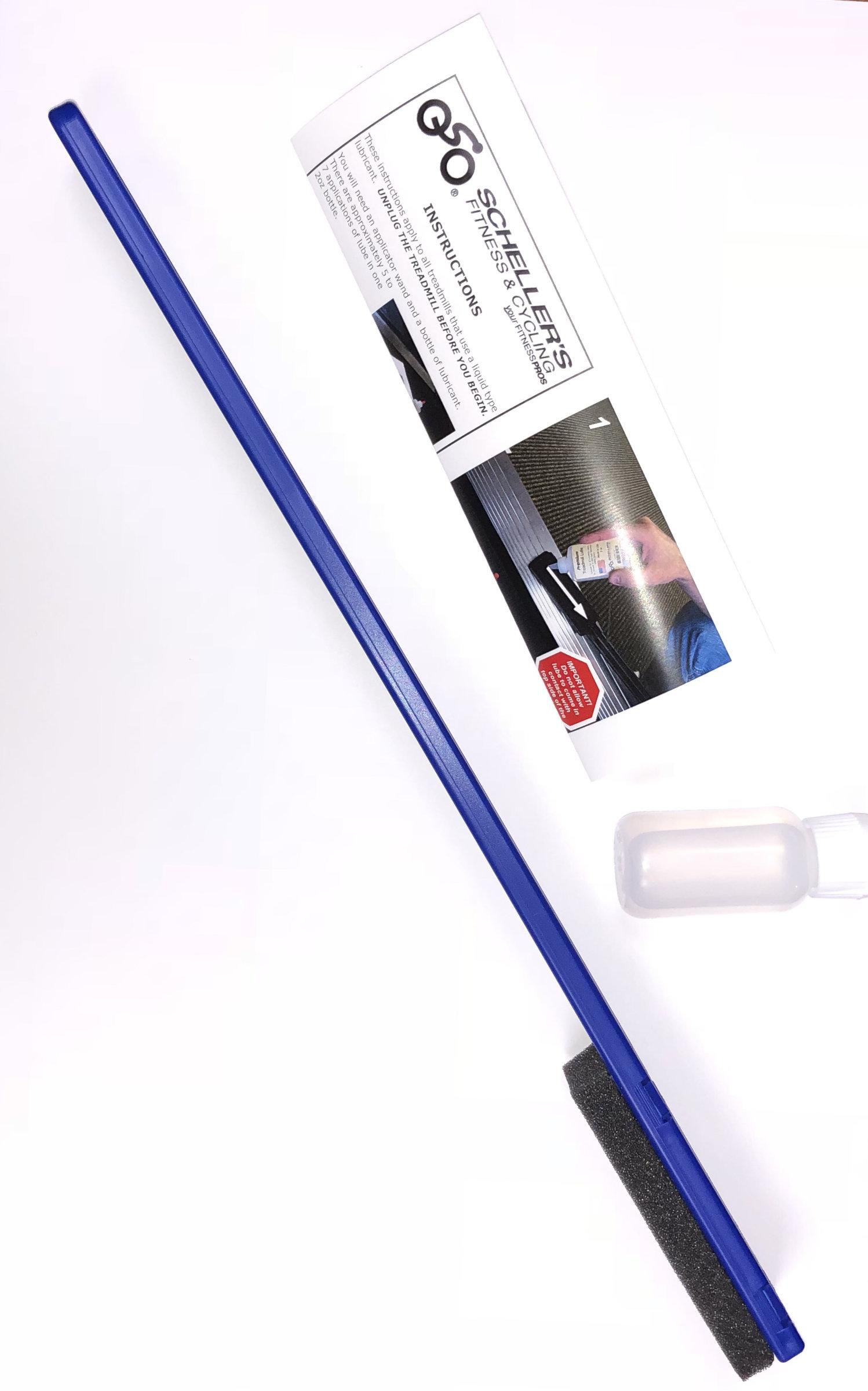 Treadmill Lube Kit Applicator & Lubricant