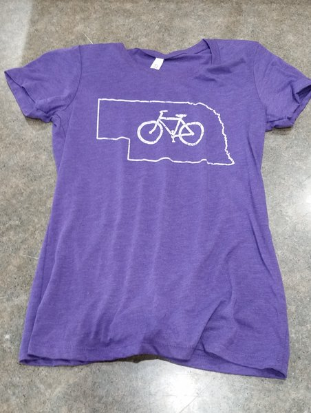 The Bike Rack T Shirt: Nebraska, Women's