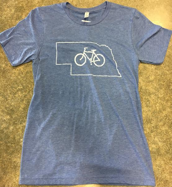 The Bike Rack T Shirt: Nebraska, Men's