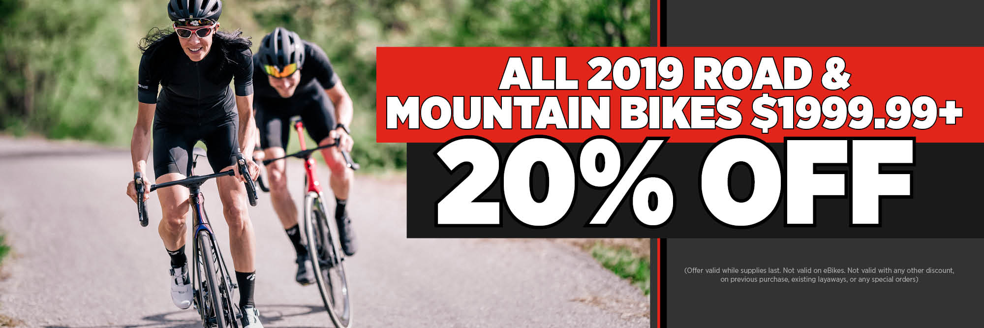 High End Bikes At Low Prices