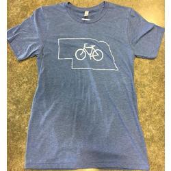 The Bike Rack T Shirt: Nebraska, Men's