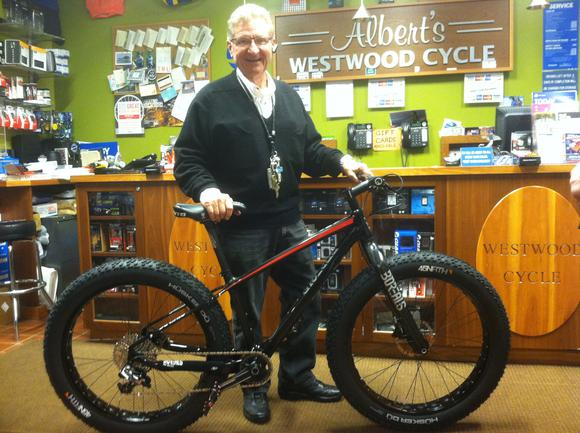 Bill takes home a new Carbon Borealis!