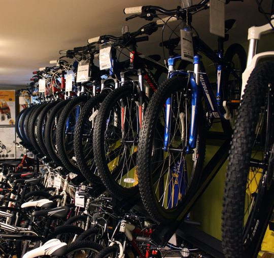 Mountain bikes of all level!