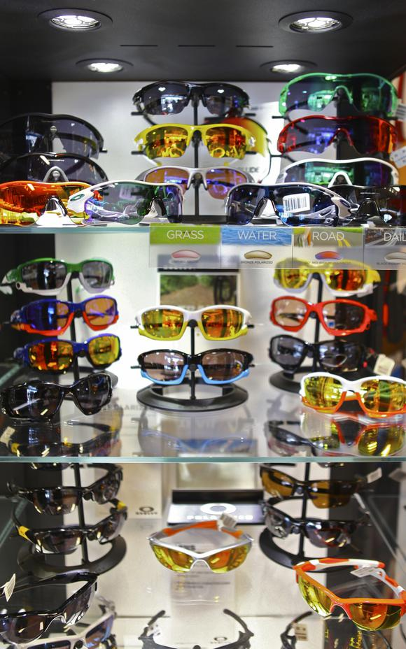 Westwood Cycle also carries Oakley sunglasses, along with Serfas and Ryders Eyewear!