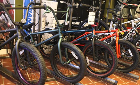 Westwood Cycle has a wide selection of BMX bikes!