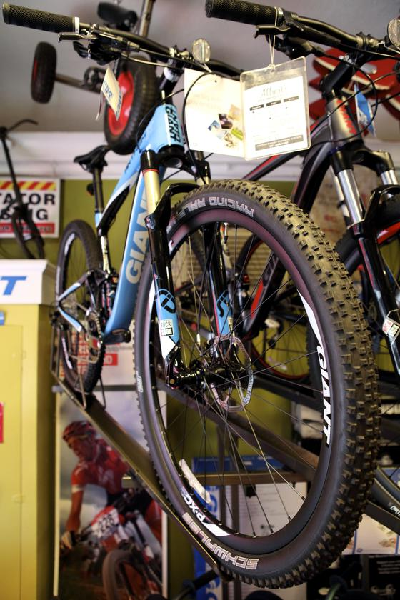 Westwood Cycle also carried Mountain Bikes for all levels! Carbon too!