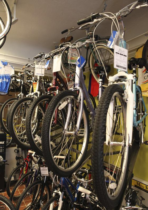 Comfort bikes are also offered at Westwood Cycle.