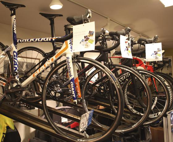 We have a large selection of Road bikes from Specialized, Giant, and Felt!
